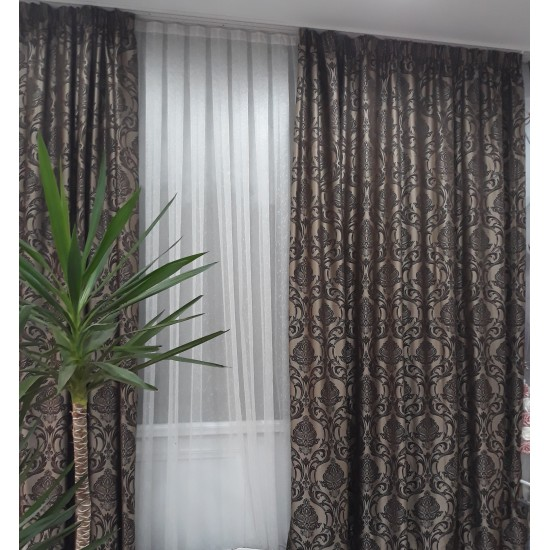 2 PIECES HIGH QUALITY WINDOW CURTAIN PANELS