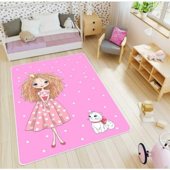 Kids room digital print carpet